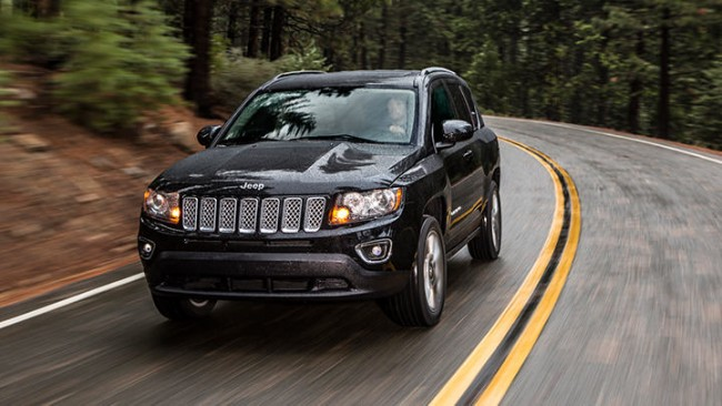 You'll never be lost in a 2014 Jeep Compass